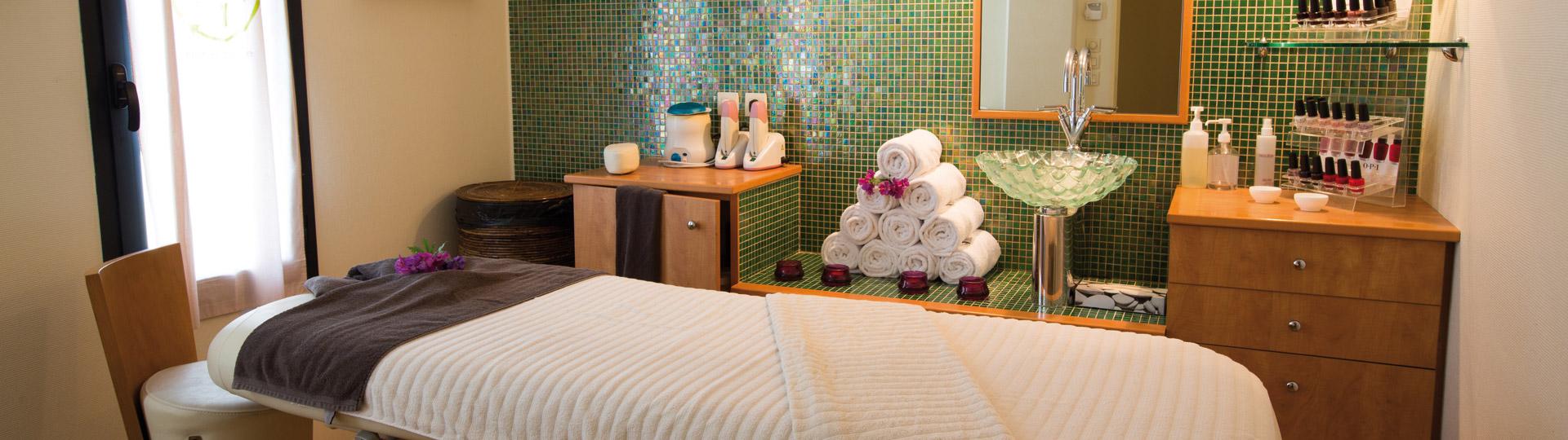 Hôtel spa avec 8 salles de soins
