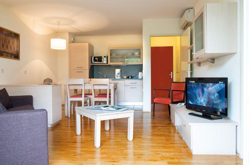 appartement meubl 2 pi ces location pr s de gen ve. Black Bedroom Furniture Sets. Home Design Ideas