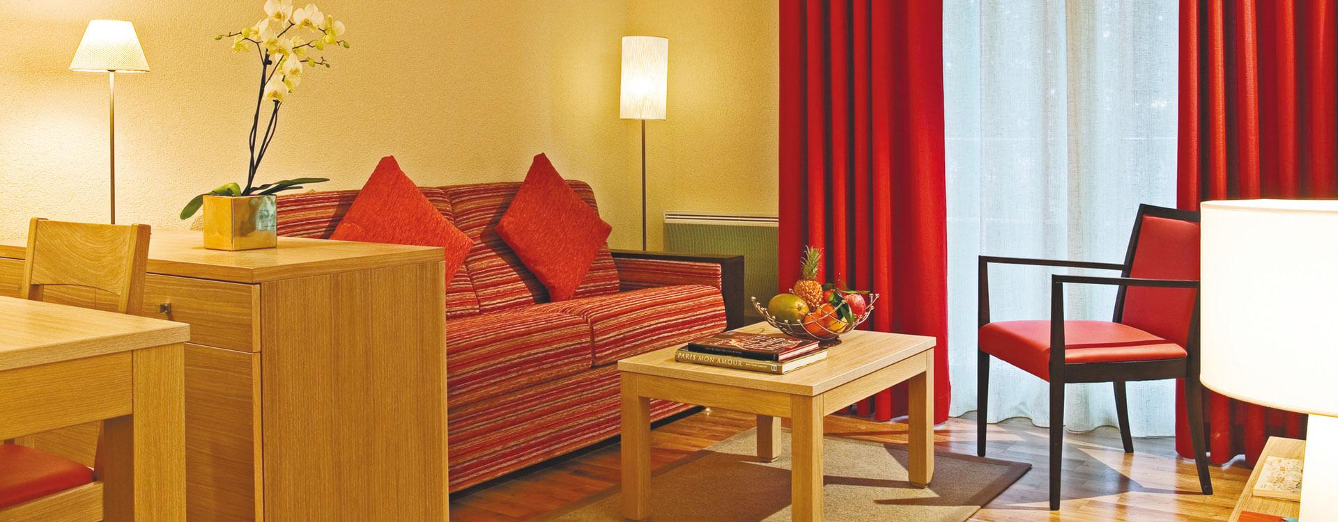 Studio - Hôtel et résidence La Villa du Lac à Divonne