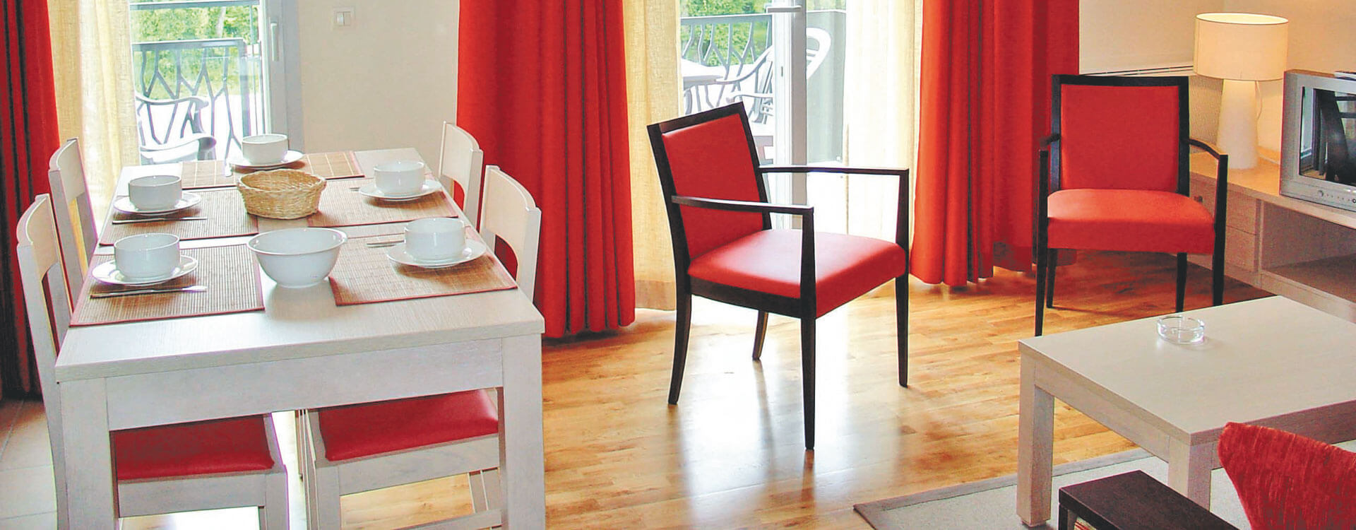 Appartement 2 pièces - Hôtel et résidence La Villa du Lac à Divonne