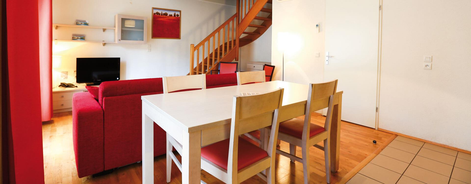 Appartement 3 pièces - Hôtel et résidence La Villa du Lac à Divonne