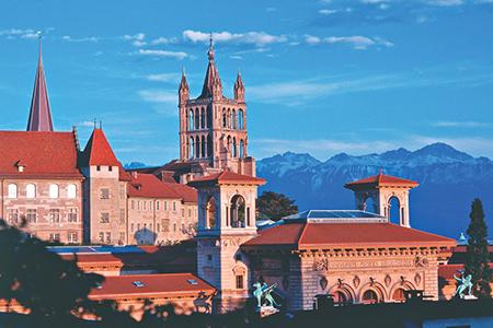 Cathédrale Lausanne