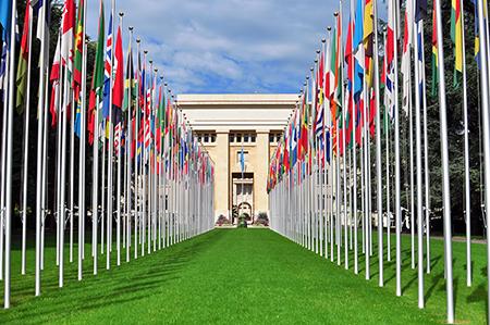 Le palais des nations Genève