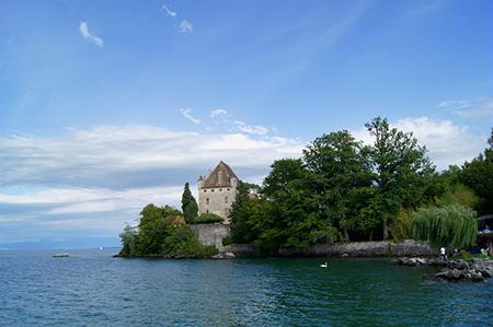 Lac léman Genève Suisse
