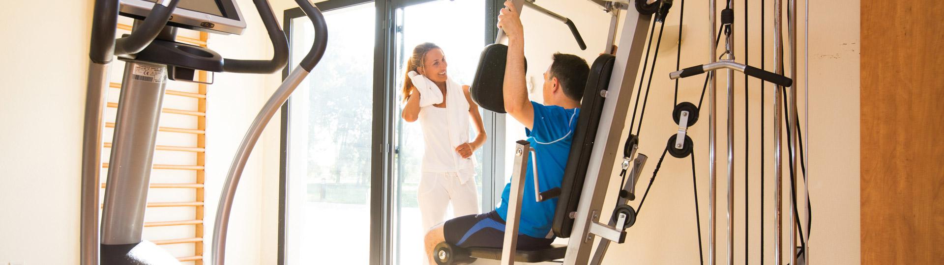 Dépensez vous dans notre salle de fitness