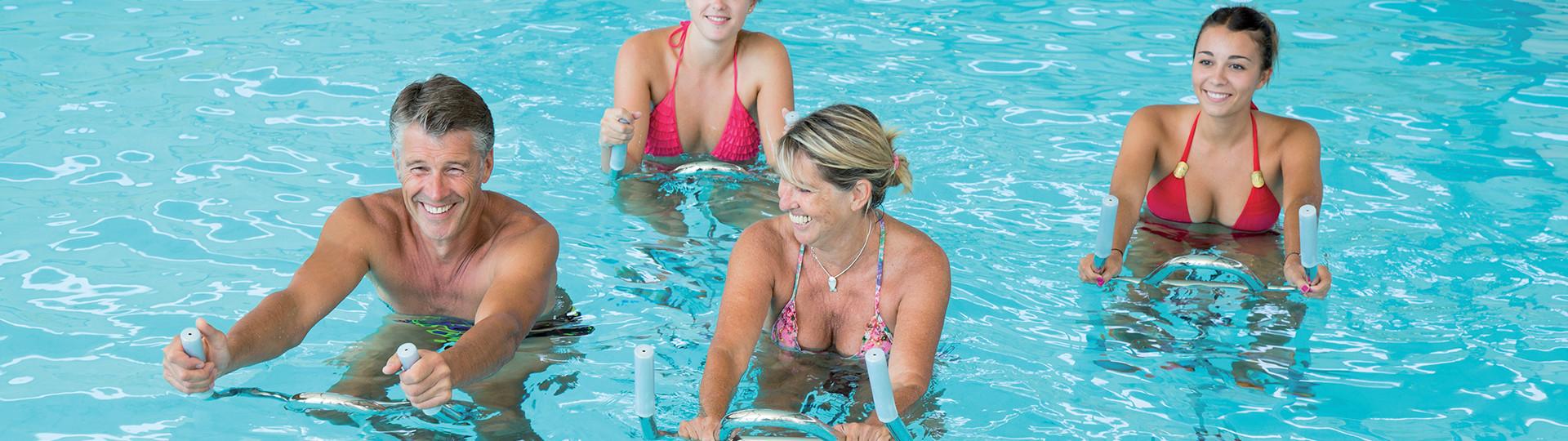Aquabike et aquagym