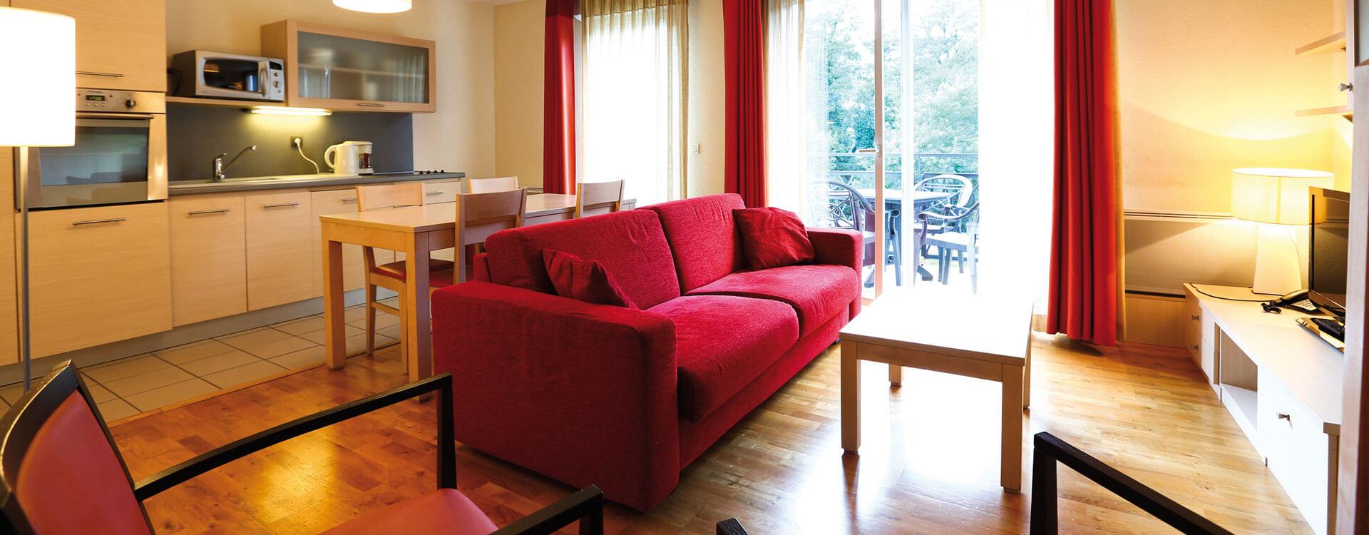 Appartement - Hôtel et résidence La Villa du Lac à Divonne