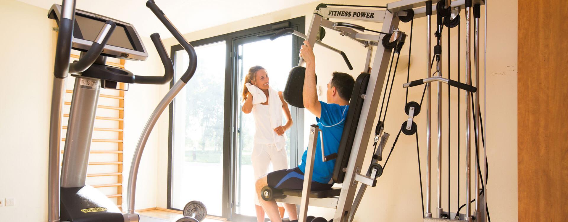 Fitness et aquasport - Hôtel et résidence La Villa du Lac à Divonne